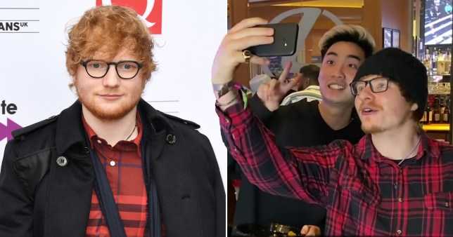 Josh Pieters trolls fellow YouTubers with Ed Sheeran lookalike at KSI and Logan Paul rematch