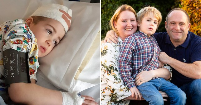 Harley Bond was diagnosed with the the rare type of childhood dementia when he was three