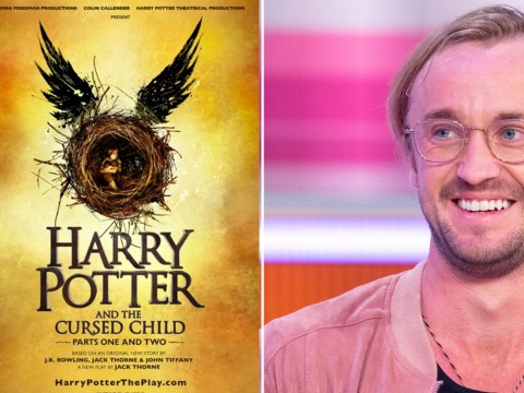 Harry Potter actor Tom Felton doesn't think the Cursed Child play will ever be made into a movie