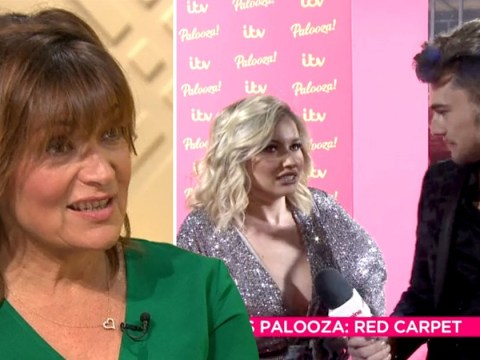 Lorraine cackles over tension between Love Island's Amy Hart and Curtis Pritchard at ITV Palooza