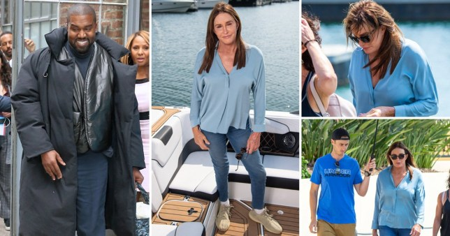 Caitlyn Jenner pays subtle homage to Kanye West on first day of filming I'm A Celebrity 2019