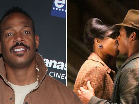 Marlon Wayans confesses kissing Jennifer Hudson was like 'kissing an angel' as he swoons over co-star