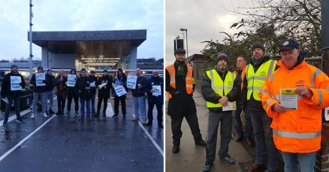West Midlands Trains services disrupted as rail workers go on strike