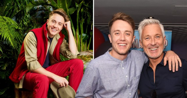 Roman Kemp on I'm A Celeb with Roman pictured with dad Martin Kemp
