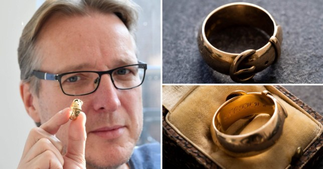 Detective recovers Oscar Wilde's gold ring 20 years after it was stolen
