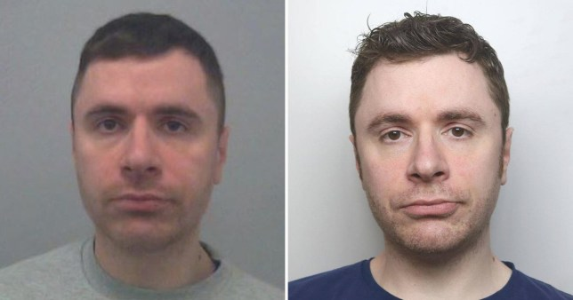 Ian Essom crept into his sleeping victim's home and started kissing her (Picture: Thames Valley Police)