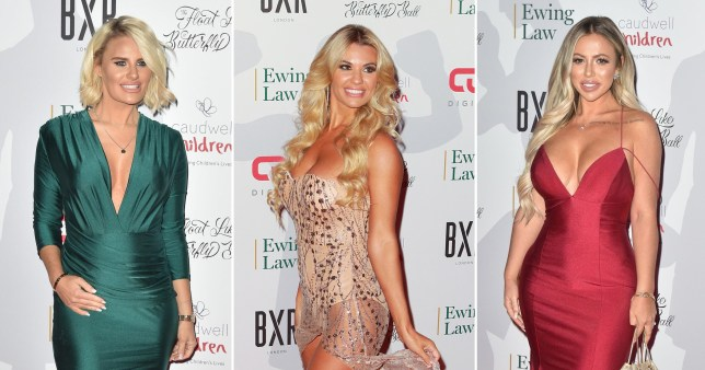 Danielle Armstrong, Christine McGuinness, Holly Hagan