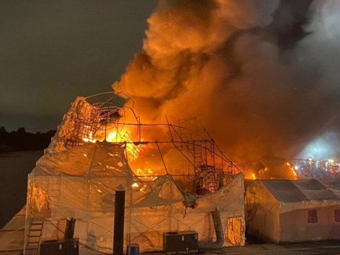 Huge fire destroys £15,000,000 worth of super yachts