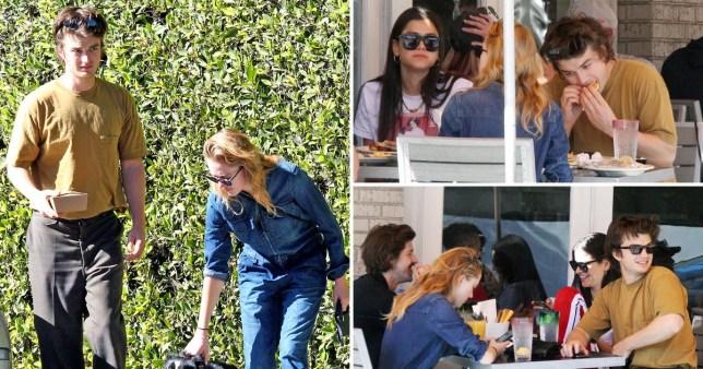 Stranger Things star Joe Keery and girlfriend Maika Monroe