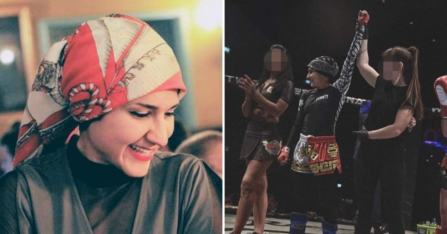 Sai Aletaha, 26, collapsed during the bout at Central Hall in Southampton on Saturday night