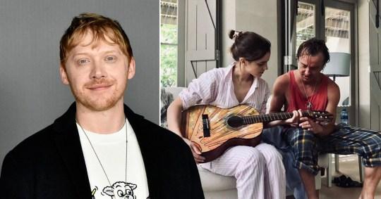 Rupert Grint noticed a 'spark' between Emma Watson and Tom Felton