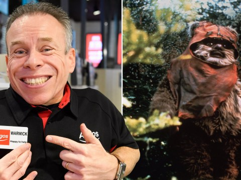 Star Wars' Carrie Fisher such a legend she would revive Warwick Davis with chocolate milk