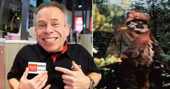 Warwick Davis reveals his favourite Star Wars memories including Carrie Fisher's kindness