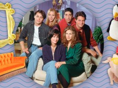 Friends costumes and props - including Chandler's canoe - are going to auction for charity