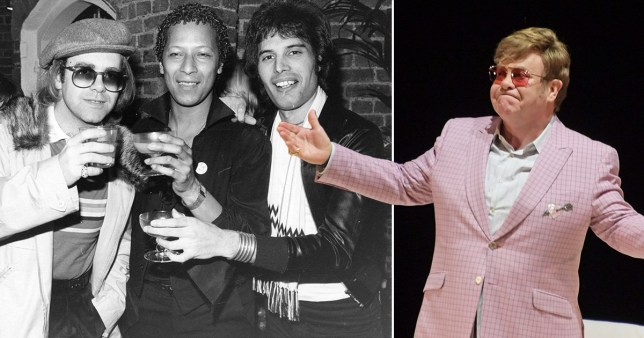 Elton John says Freddie Mercury was 'physically terrifying to look at' in final days before death from Aids