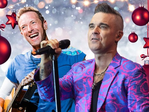 Robbie Williams and Coldplay clashing for Christmas number one album and we are gripped