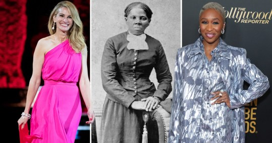Julia Roberts as Harriet Tubman is Scarlett Johansson all