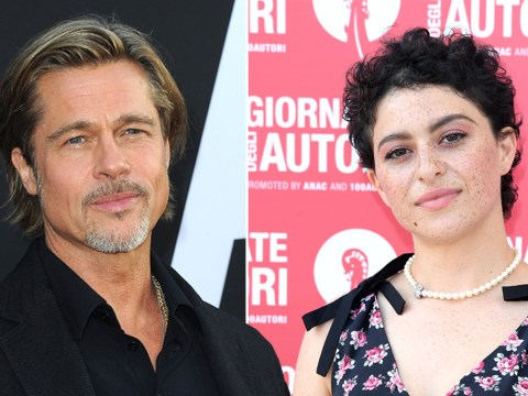 Brad Pitt isn't dating Alia Shawkat because he 'keeps friends as friends'