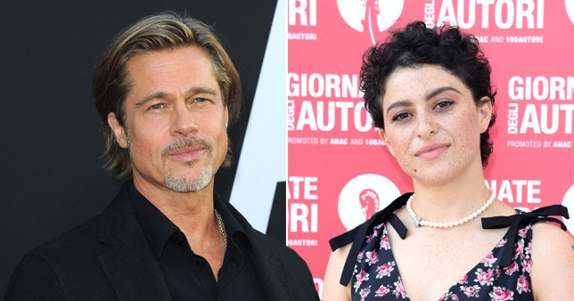 Brad Pitt and Arrested Development's Alia Shawkat spotted spending time together again