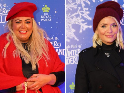 Gemma Collins and Holly Willoughby bask in the festive season at grand opening of Winter Wonderland