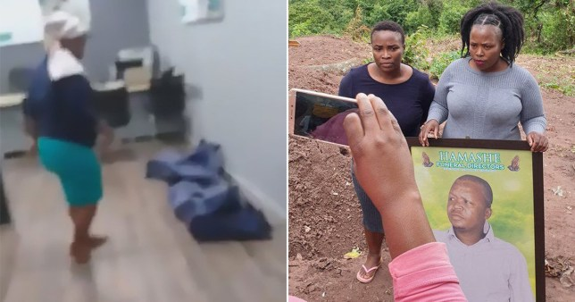Pair take man's corpse to insurance company