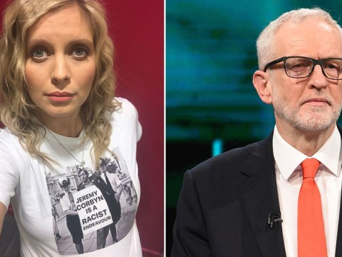 Pregnant Rachel Riley insists backlash is 'price of awareness' as she stands by photo-shopped Jeremy Corbyn t-shirt