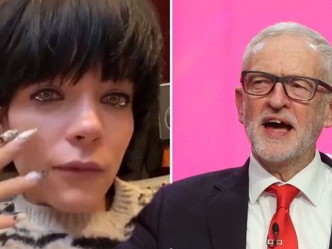 Lily Allen 'crying' over the Labour manifesto is one of the more bizarre things we've watched