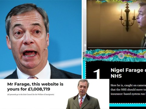 Remainers offer to sell thebrexitparty.com to Nigel Farage for £1,000,000