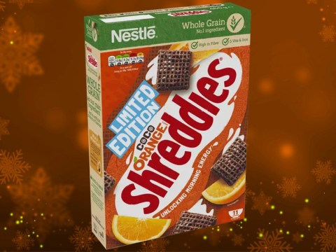 Chocolate Orange Shreddies are back – just in time for Christmas