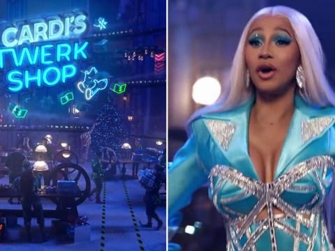 Cardi B comes for Santa's job as she takes on Pepsi's Christmas advert