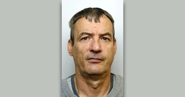 Convicted murderer Donald Sheridan, who has a tights fetish