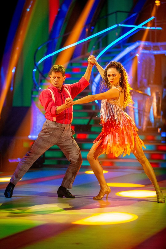 Mike Bushell on Strictly