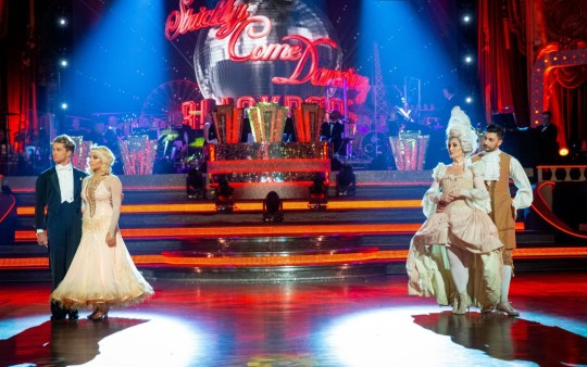 Strictly's Saffron and Michelle in the bottom two