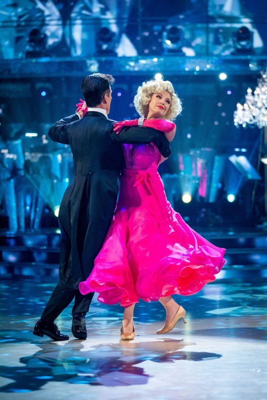 For use in UK, Ireland or Benelux countries only Undated BBC handout photo of Anton Du Beke and Emma Barton during the BBC1 dance contest, Strictly Come Dancing. PA Photo. Issue date: Saturday November 23, 2019. See PA story SHOWBIZ Strictly. Photo credit should read: Guy Levy/BBC/PA Wire NOTE TO EDITORS: Not for use more than 21 days after issue. You may use this picture without charge only for the purpose of publicising or reporting on current BBC programming, personnel or other BBC output or activity within 21 days of issue. Any use after that time MUST be cleared through BBC Picture Publicity. Please credit the image to the BBC and any named photographer or independent programme maker, as described in the caption.