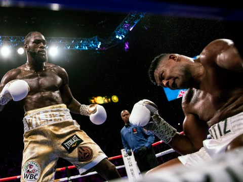Luis Ortiz 'upset' fight with Deontay Wilder stopped after knockdown