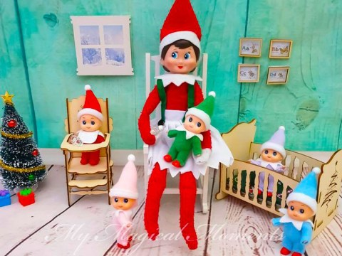 Creepy or cute? You can now buy 'Elf on the Shelf' babies