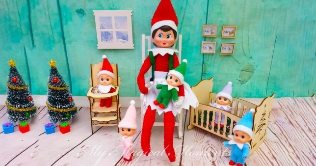 Elf On The Shelf You Can Now Buy Baby Christmas Elves