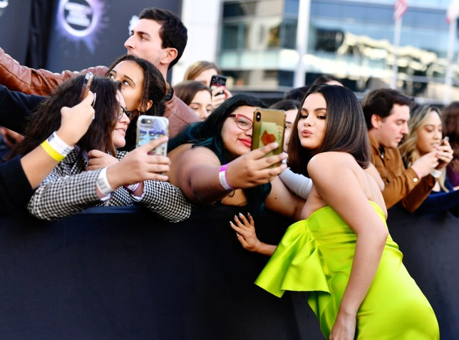 Selena Gomez attends the 2019 American Music Awards