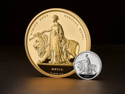 Royal Mint unveils £5,000 coin the size of a dinner plate
