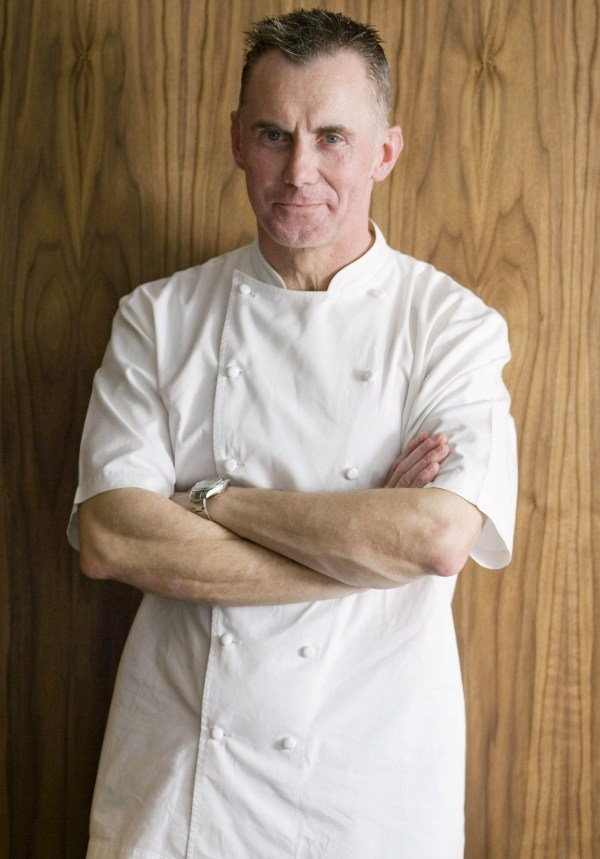 Mandatory Credit: Photo by REX (987897ar) Gary Rhodes at his restaurant at Tower 42 in the City of London. Various