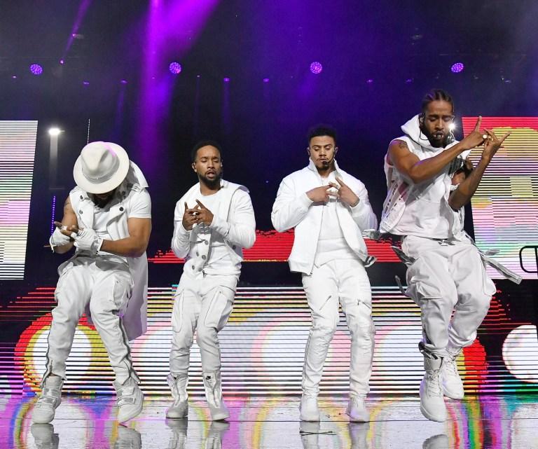 B2K's Raz-B, J-Boog, Lil' Fizz, and Omarion