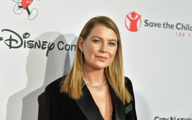 Ellen Pompeo on the red carpet