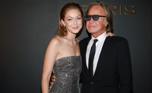 Gigi Hadid and Mohamed Hadid