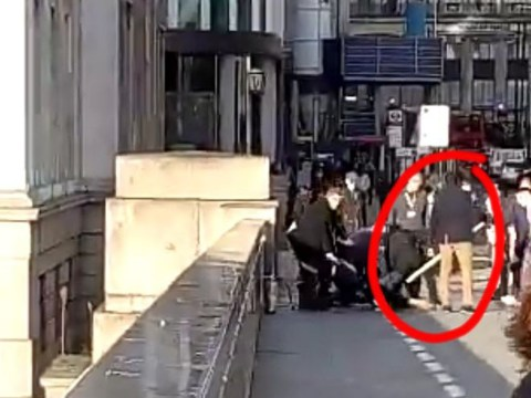 Bystander chases London Bridge terrorist with 5-foot Narwhal tusk