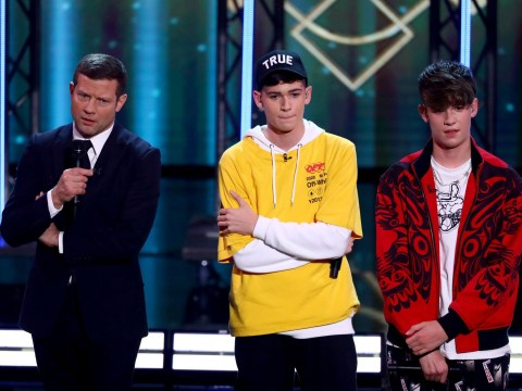 X Factor: Celebrity's Max and Harvey tease live show performance details after judges harsh comments