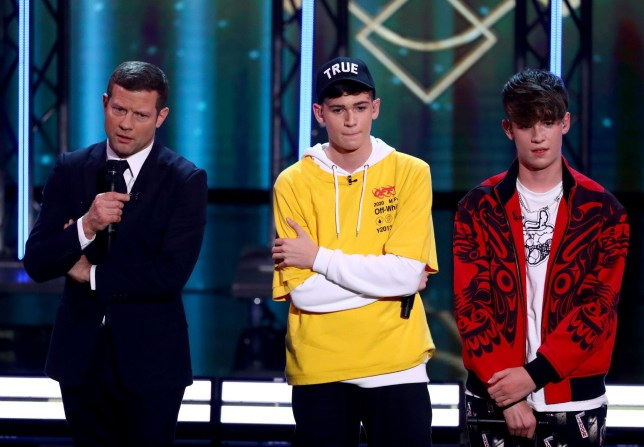 MAx and Harvey received negative comments from the judges