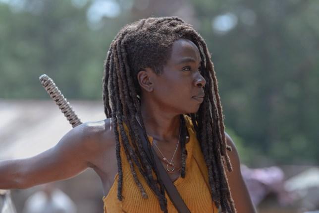 The Walking Dead's Danai Gurira as Michonne