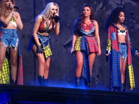Little Mix say 'nightmare' technical hitch during London tour show was down to faulty stage lift