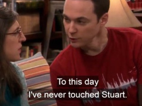 The Big Bang Theory fans call out Sheldon Cooper – he did touch Stuart after all!