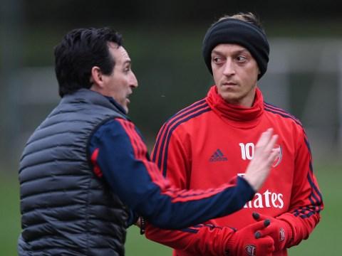 Unai Emery drops Mesut Ozil selection hint ahead of Arsenal vs Wolves